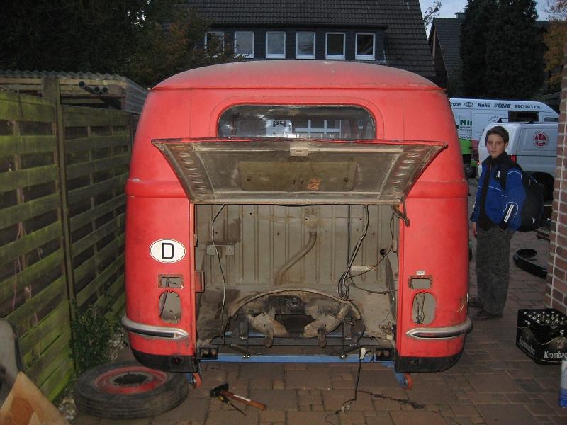 1952 Barndoor Bus Karmann1952